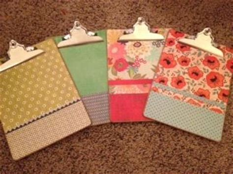 how to decoupage a clipboard best 25 decorated clipboards ideas on