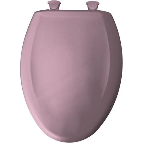 elongated toilet seat cover curch bemis 1200slowt 563 orchid elongated closed front
