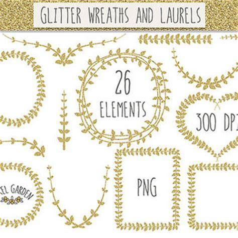 gold leaf border clip art (20+)