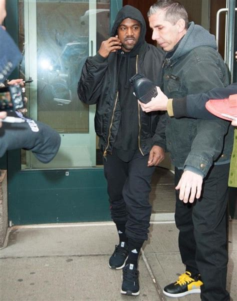 New York Parka By B Grace kanye west photographed in nyc wearing alpha industries ma