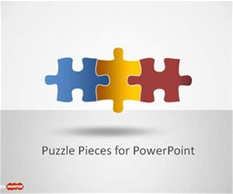 Free Puzzle Piece Shapes For Powerpoint Free Powerpoint Powerpoint Template Puzzle Pieces Free