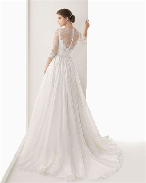 Sleeve Organza Dress 2014 organza a line wedding dress with sleeves sang
