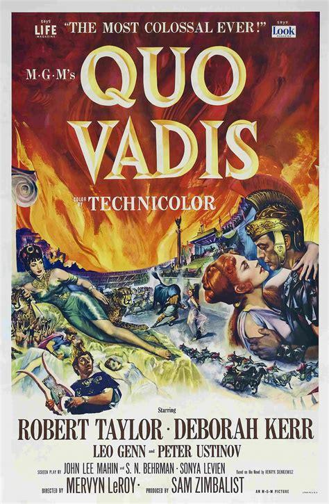 film gratis quo vadis quo vadis 1951 film wikipedia