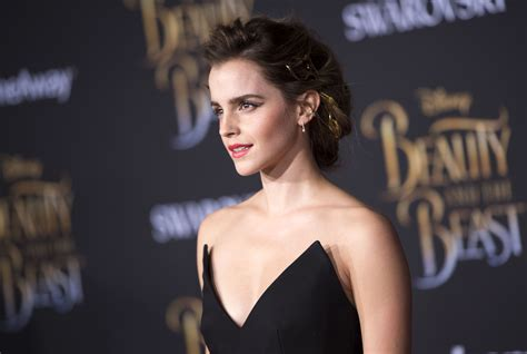 emma watson picture gallery celebrity talks a little girl dressed as belle crashed an interview with
