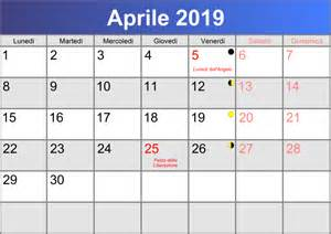 Calendario 2019 Maggio Calendario Aprile 2019 Stabile Pdf Abc Calendario It
