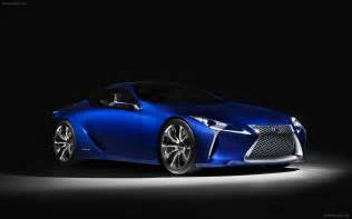 lexus lf lc blue concept 2012 widescreen car photo