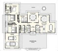 T Shaped House Plans by T Shaped Plan With Four Bedrooms Ideas For The House