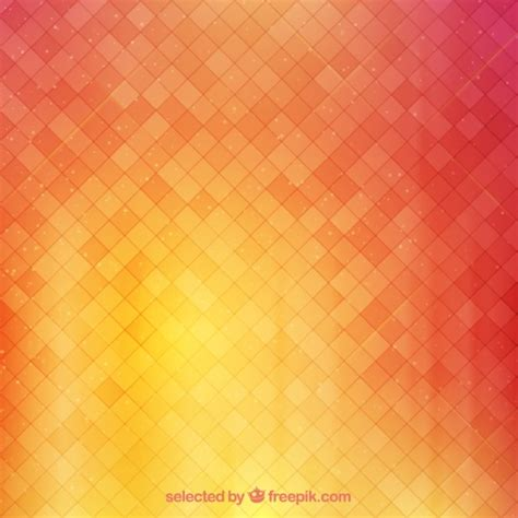 background oren background with squares in warm tones vector free download