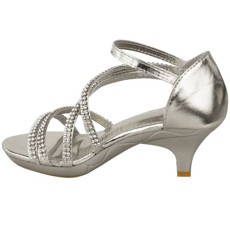 wedding sandals for bridesmaids new low heel wedding diamante sandals