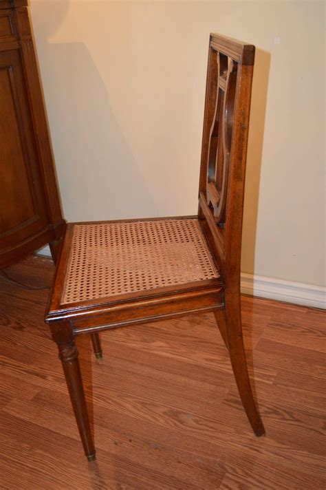 Harp Back Dining Chairs by Set Of Six Mahogany Harp Back Dining Chairs For Sale At
