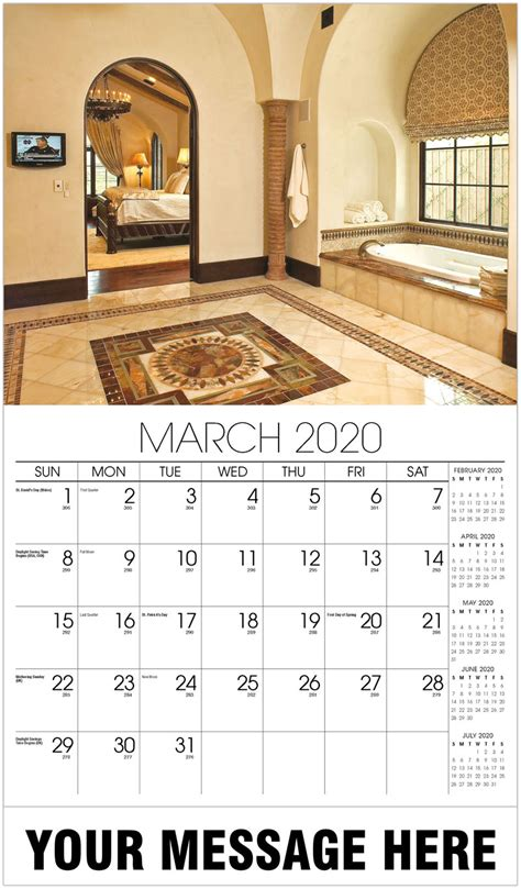 promotional advertising calendar decor interior design