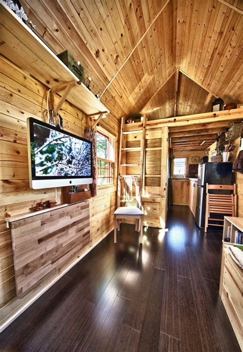 tiny tack house  couples perfect mobile home home
