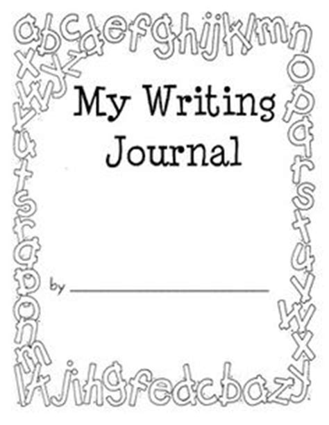 writing cover page 7 best images of writing notebook covers printable