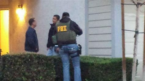 Fbi Records Search Fbi Executes Search Warrant At Corona Home Of San Bernardino Gunman Syed Farook S