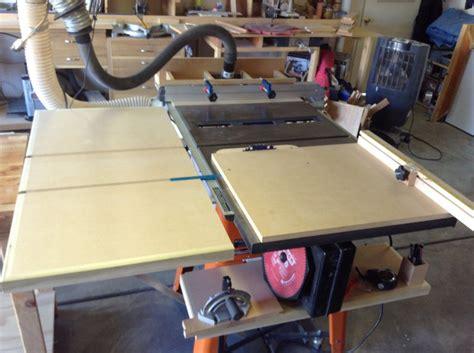 Table Saw Fence Upgrade by Ridgid Table Saw Upgrade By Brandonbozo Lumberjocks