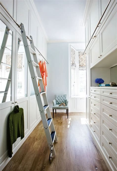 Closet Ladders by Ladder For Closet Transitional Closet Atlanta Homes