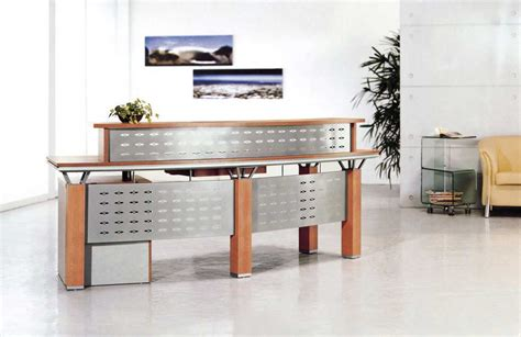 Office Counter Desk Glass Reception Desks For Your Office