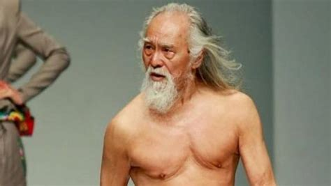 best look for eighty year old meet china s oldest male model and hottest grandpa