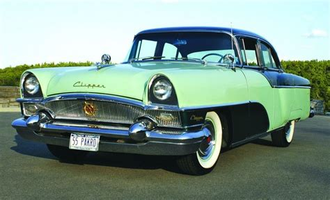 Change Car Upholstery Preserving History 1955 Packard Clipper Custom As