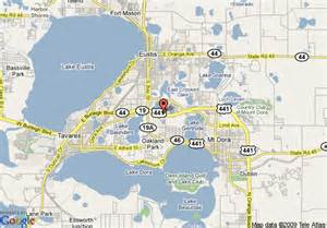 map of comfort inn mt eustis