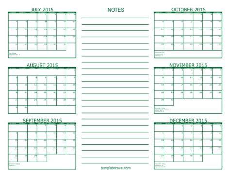 """search results for """"6 month calendar printable 2016"""
