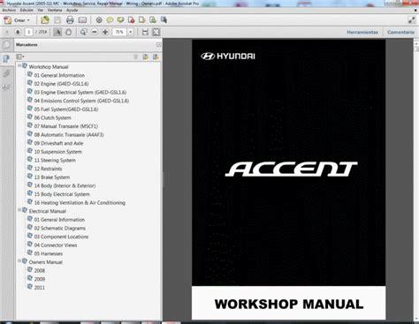 service repair manual free download 1996 hyundai accent electronic valve timing 28 06 hyundai accent repair manual 124357 hyundai accent hyundai verna 2007 repair manual