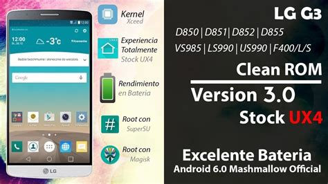 lg  cleanrom  android  mm oficial todas las variantes review en espanol ayala
