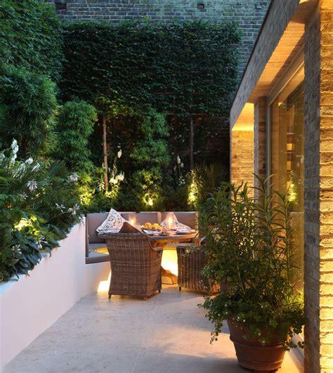 al fresco garden lighting design  john cullen lighting