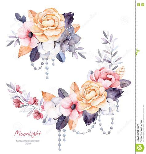 rami fiori collezione invernale con i rami piante di cotone