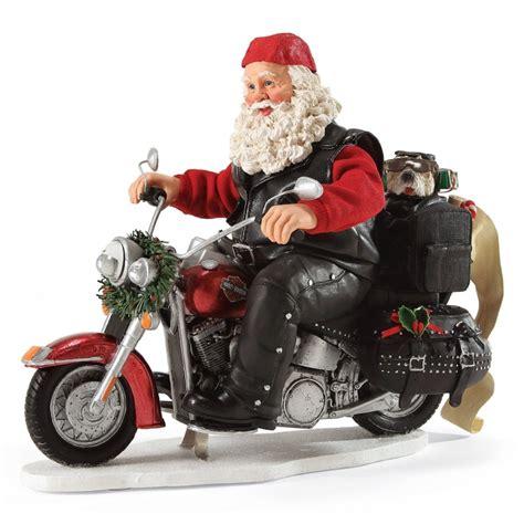 motorcycle santa christmas