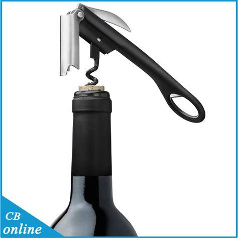 Tanica Stainless Steel Wine Opener Corkscrew Pembuka Wine 2015 new wine opener corkscrew can opener wine bottle opener shape bottle opener stainless steel