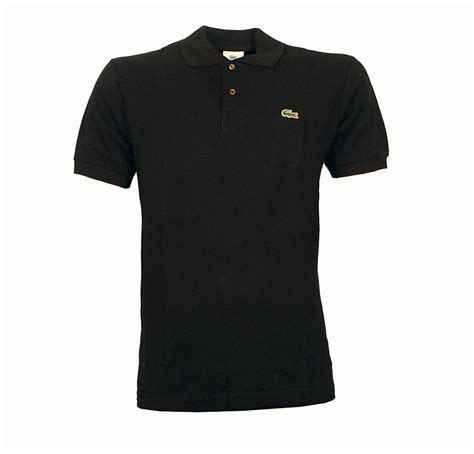 Polo Shirt Black lacoste black polo dolce and gabbana jackets