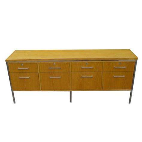 file cabinet credenza modern 6ft mid century modern oak alma credenza file cabinet ebay