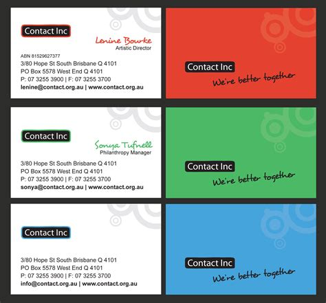 Contact Card Template by Business Card Photo To Contact Images Card Design And