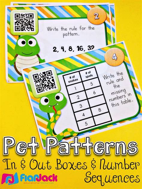 number pattern code 148 best images about math qr codes on pinterest