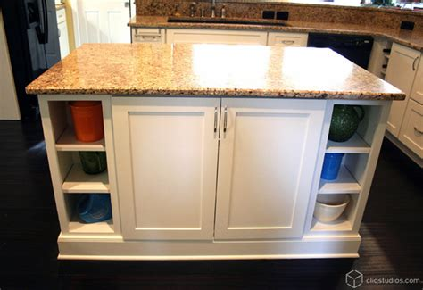 large mission style white kitchen contemporary kitchen charleston  cliqstudios cabinets