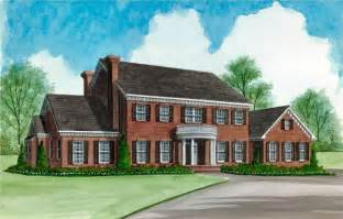 houseplanguys free home plans center hall colonial floor plans