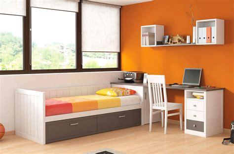 escritorio cama dormitorio para ni 241 os con cama nido y escritorio con