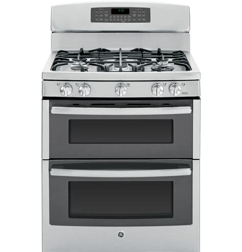 Oven Gas Stainless Steel range oven ge dual fuel oven range