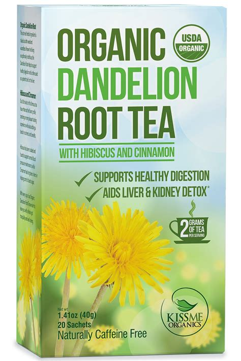 How To Detox With Dandelion Tea by Organic Dandelion Root Tea Cricket S Daily Fix