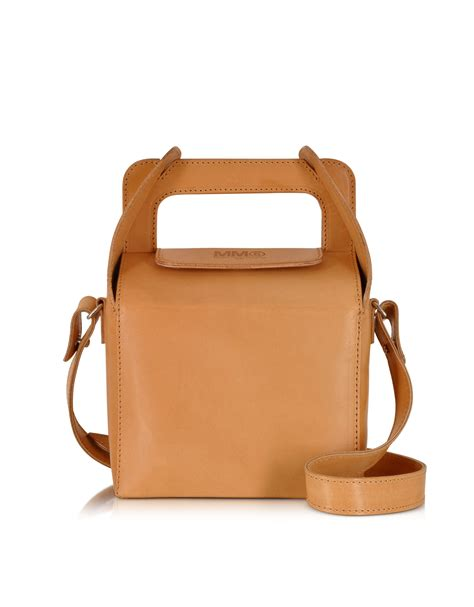 Maison Martin Margiela Bags by Mm6 By Maison Martin Margiela Leather Lunch Box