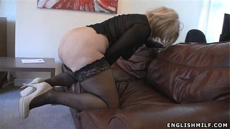 Big Ass British Milf In Stockings With Vibrator Xnxx