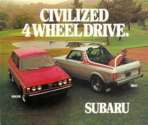 subaru brat 2017 1978 subaru brat pickup truck the fast lane truck