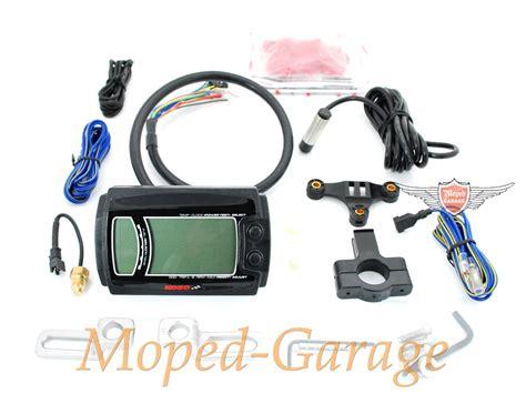 Motorrad Tuning Tacho by Moped Garage Net Koso Digital Tacho Tuning 12 Volt