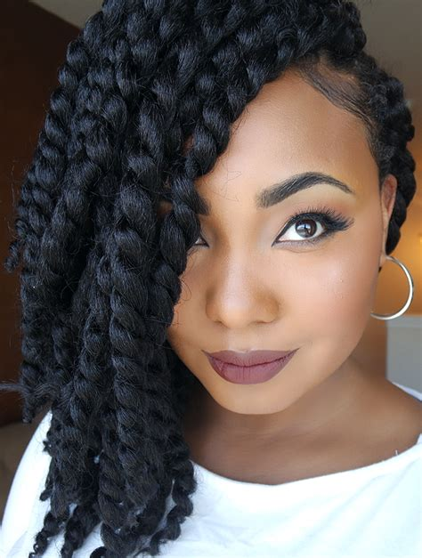 hair styles for crochet two finger twist 1000 images about crochet hairstyles on pinterest