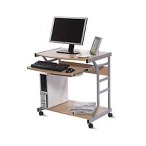Small Computer Desk On Wheels by Computer Desk Wheels Ebay