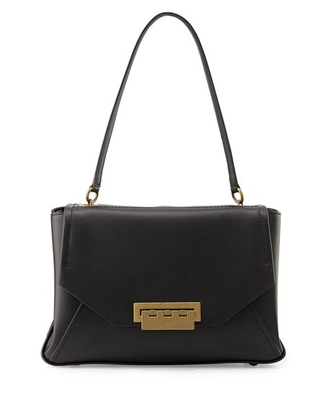 Zac Posen Shoulder Bag by Zac Zac Posen Eartha Leather Envelope Shoulder Bag In