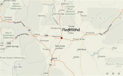 maps redmond redmond oregon location guide
