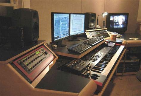 Sweet Custom Keyboard Workstation Desk Music Studio Studio Keyboard Desk