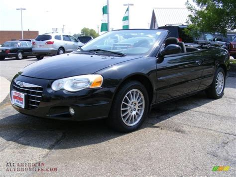 Chrysler Sebring Convertible 2005 by 2005 Chrysler Sebring Black 200 Interior And Exterior